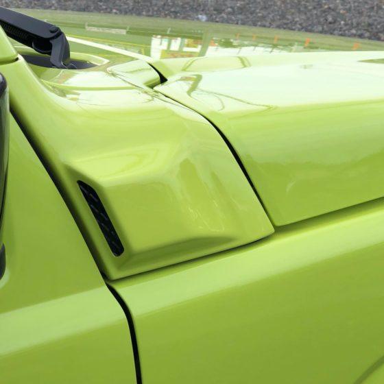 エンジンの熱を効果的に排出するパーツ