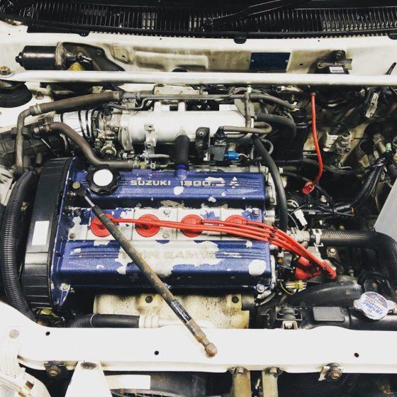 G13B ツインカムエンジン