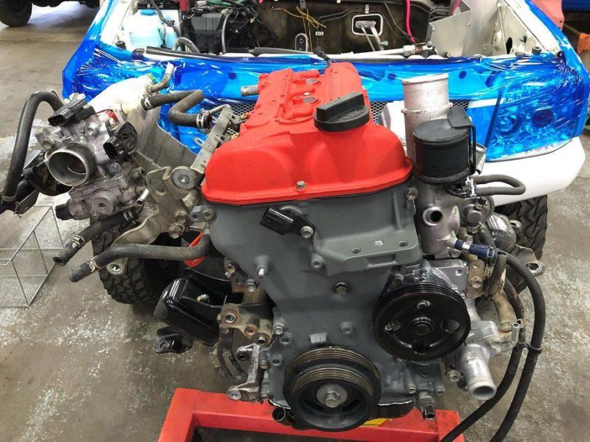 ジムニーJB23W K6A エンジンオーバーホール