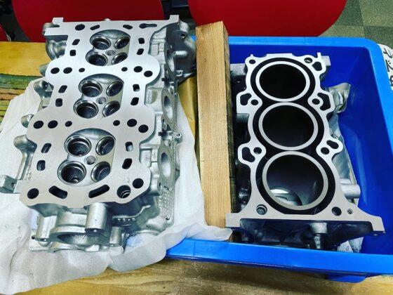 jB23ジムニーK6Aエンジン