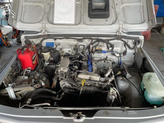 ジムニーJA22W エンジンオーバーホール